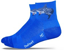 Image of DeFeet Aireator Shark Attack Socks