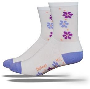 Image of DeFeet Aireator Tall Pansy Womens Socks