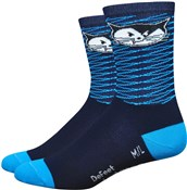 "Image of DeFeet Aireator Womens 5"" Vanderkitten Socks"