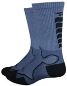 "Image of DeFeet Levitator Trail 6"" Socks"