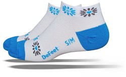 Image of DeFeet Speede Womens Heart Blossom Socks