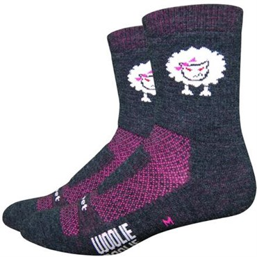 "Image of DeFeet Woolie Boolie 4"" Baaad Sheep Socks"