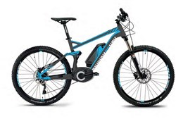 Image of DiamondBack Corax 1.0 27+ FS EMTB 27.5+ MTB Full Suspension 2017 Electric Bike