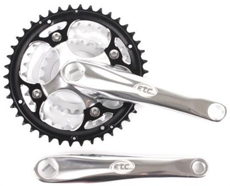 Image of ETC Alloy Triple Chainset