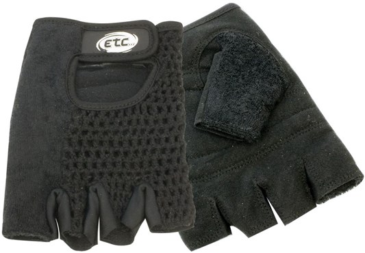Image of ETC Classic Mitts Short Finger Cycling Gloves