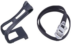 Image of ETC Toeclip Mtb Resin Inc Straps