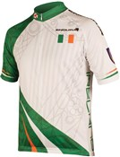 Image of Endura CoolMax Printed Ireland Short Sleeve Cycling Jersey SS17