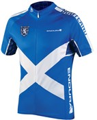 Image of Endura CoolMax Printed Scotland II Short Sleeve Cycling Jersey AW16
