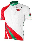 Image of Endura CoolMax Printed Wales Short Sleeve Cycling Jersey SS16
