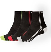 Image of Endura Coolmax Stripe II Sock - Triple Pack SS17