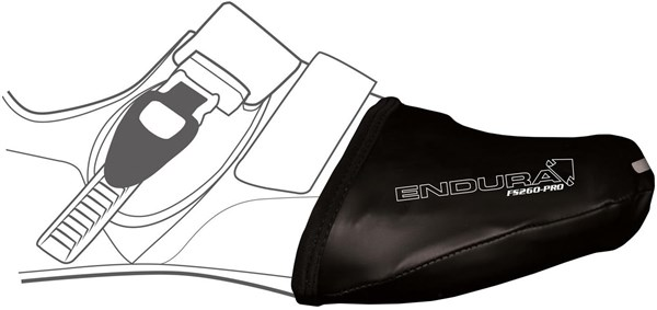 Image of Endura FS260 Pro Slick Cycling Toe Cover AW16