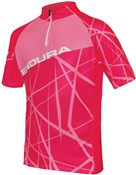 Image of Endura Hummvee Ray Kids Short Sleeve Cycling Jersey AW16