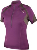 Image of Endura Hummvee Womens Short Sleeve Cycling Jersey AW17