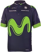 Image of Endura Movistar Kids Short Sleeve Team Jersey SS17