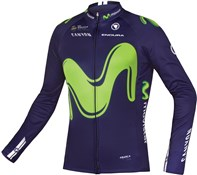Image of Endura Movistar Long Sleeve Team Jersey SS17