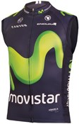 Image of Endura Movistar Team Cycling Gilet AW16