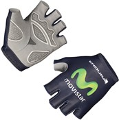 Image of Endura Movistar Team Race Mitt Short Finger Cycling Gloves AW16