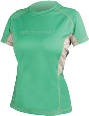 Image of Endura Pulse Womens Short Sleeve Cycling Jersey SS16