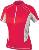 Image of Endura Pulse Womens Short Sleeve Cycling Jersey SS17