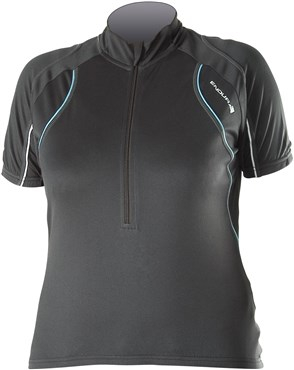 Image of Endura Rapido Womens Short Sleeve Cycling Jersey 2013