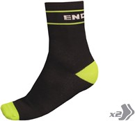 Image of Endura Retro Cycling Socks - Twinpack SS17