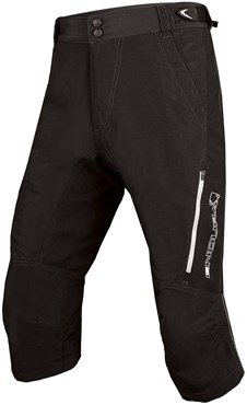 Image of Endura SingleTrack II 3/4 Baggy Cycling Shorts AW16