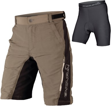 Image of Endura SingleTrack II Baggy Cycling Shorts With Liner Shorts SS16