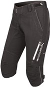 Image of Endura SingleTrack II Womens 3/4 Baggy Cycling Shorts AW17