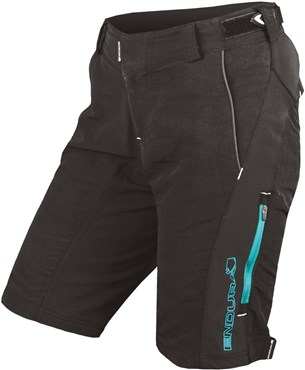Image of Endura SingleTrack II Womens Baggy Cycling Shorts AW16