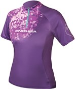 Image of Endura SingleTrack II Womens Short Sleeve Cycling SS16