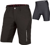 Image of Endura SingleTrack III Baggy Cycling Shorts with Clickfast Liner SS17