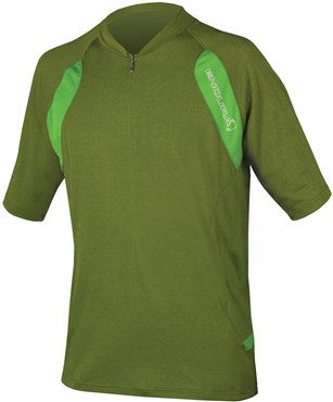 Image of Endura SingleTrack Short Sleeve Cycling Jersey  AW16