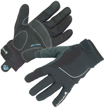 Image of Endura Strike Womens Waterproof Long Finger Cycling Gloves SS16