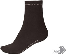 Image of Endura Thermolite Cycling Socks - Twin Pack AW16