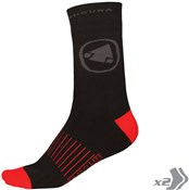 Image of Endura Thermolite II Socks - Twin Pack SS17