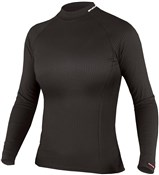 Image of Endura Transrib Womens Long Sleeve Cycling Baselayer SS17