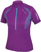Image of Endura Womens Xtract Short Sleeve Cycling Jersey SS17