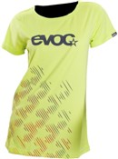 Image of Evoc Logo Womens Short Sleeve Jersey