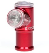 Image of Exposure Blaze MK2 USB Rechargeable Rear Light With DayBright & ReAct Technology