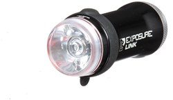 Image of Exposure Link Front and Rear Light Set With Helmet Mount