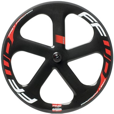 Image of Fast Forward 5 Spoke Track Ceramic Front Wheel
