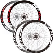 Image of Fast Forward F4D Full Carbon Clincher Road Wheelset