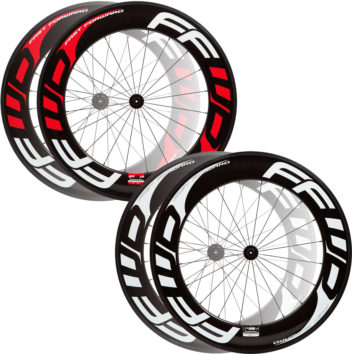 Fast Forward F9R Full Carbon Clincher Road Wheelset