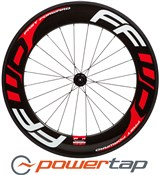 Image of Fast Forward F9R PowerTap G3 Tubular Rear Road Wheel