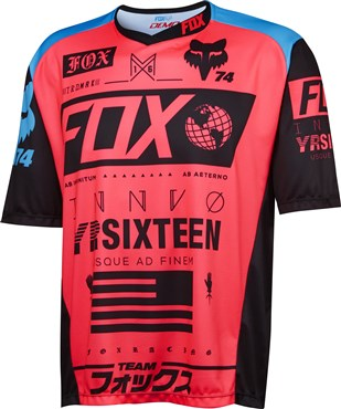 Image of Fox Clothing Demo Union Short Sleeve Cycling Jersey SS16
