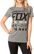 Image of Fox Clothing Draftr Womens Short Sleeve Crew Tee AW17