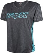 Image of Fox Clothing Womens Indicator Short Sleeve Jersey SS16