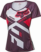 Image of Fox Clothing Womens Lynx Short Sleeve Jersey SS16