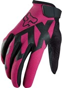 Image of Fox Clothing Womens Ripley Long Finger Cycling Gloves SS16