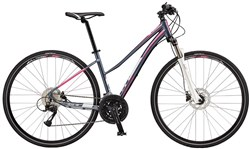 Image of GT Transeo 2.0 Step Thru Womens 2017 Hybrid Bike